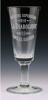 La Diabolique Absinthe Glass