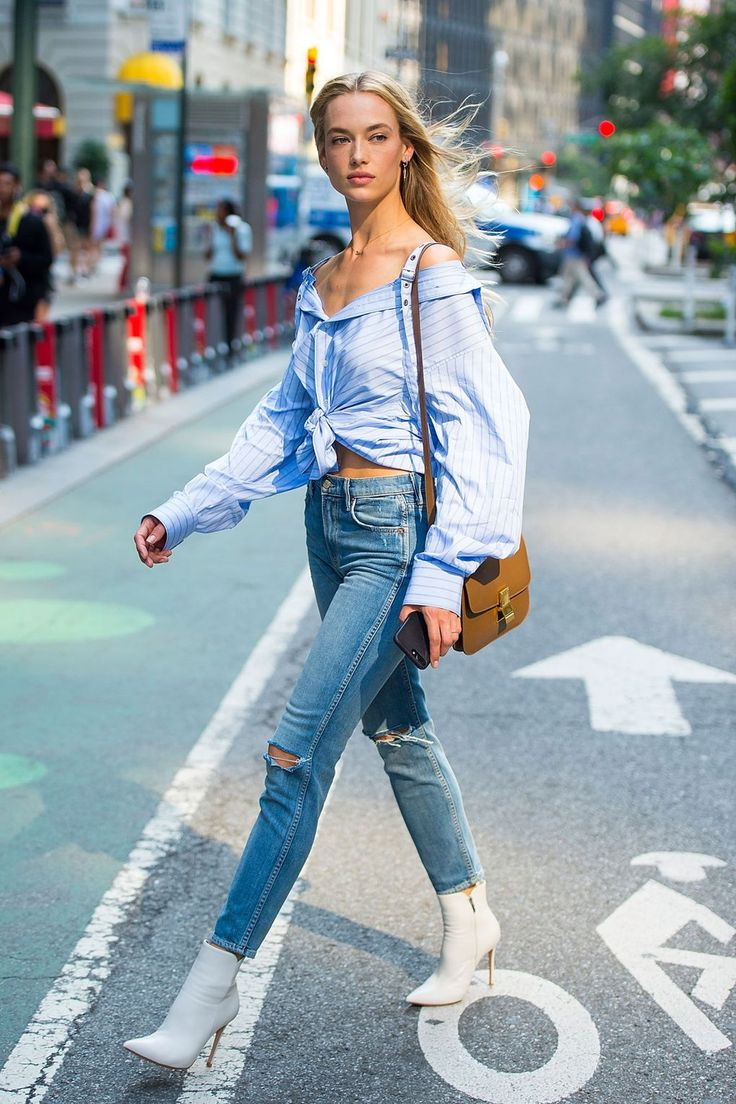 Hannah Ferguson - Victoria's Secret Fashion Show Casting, New York - August 21 2017