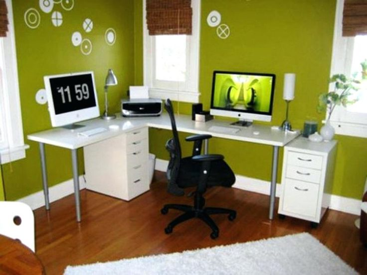 Image result for vibrant paint colors for home office