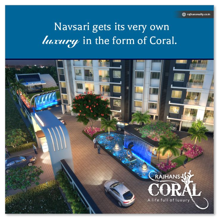 #Navsari gets its very own luxury in the form of #Coral.