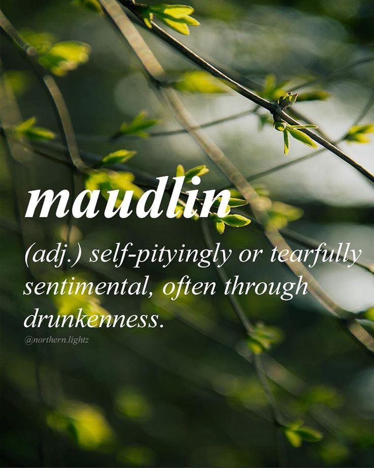 English with Latin origin //mawd-lin//