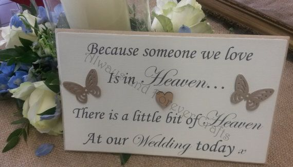 Because someone we love is in Heaven there is a by AandFCrafts
