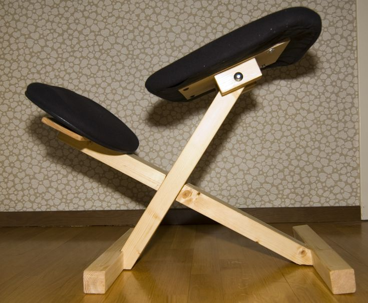 Building a diy balance chair kneeling chair diy chair