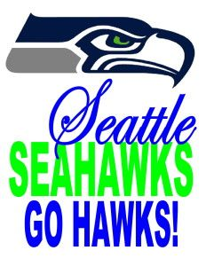 Inventive image intended for printable seahawks logo