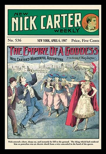 Nick Carter: The Empire of a Goddess