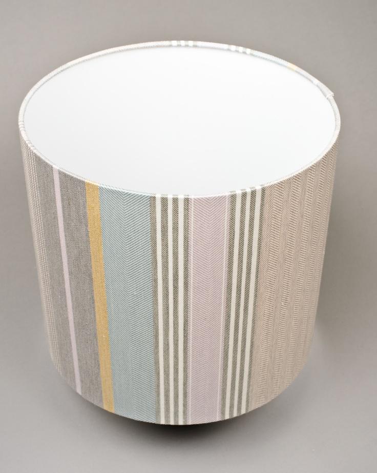 Lamp Shade by Laura Fletcher Textiles - Mistley Stripe