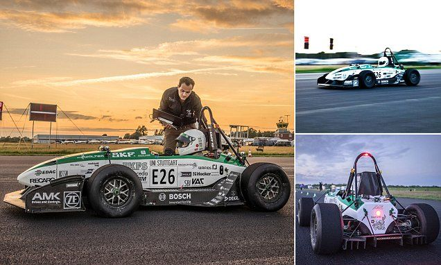 Electric car goes FASTER than F1 race car with new world record