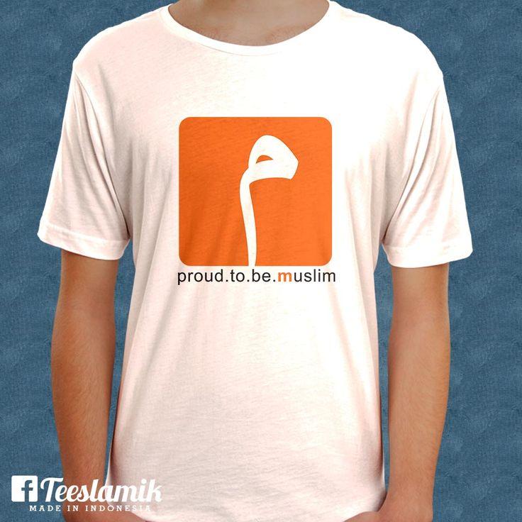 Proud to be a Moslem by Nuruz Zaman - http://teeslamic.com/proud-to-be-a-moslem-by-nuruz-zaman/  #WearYourDakwah #Teeslamic #KaosDakwah