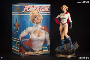 Sideshow Power Girl Premium Format Figure