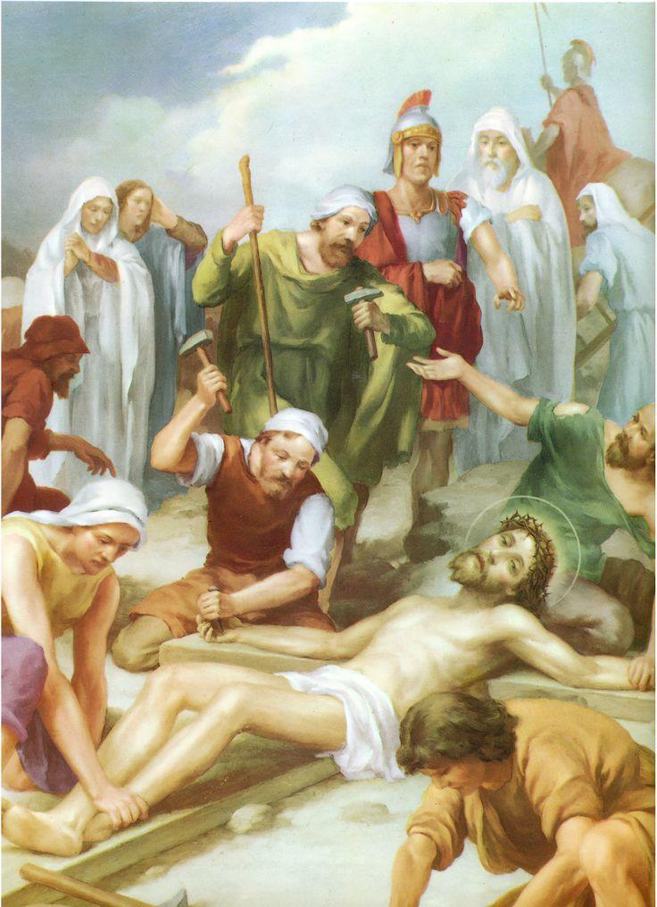 """11 + Camino de oración que busca adentrarnos en la meditación de la Pasión de Nuestro Señor Jesucristo en su camino al Calvario. """"Estaciones"""" del Via Crucis."""
