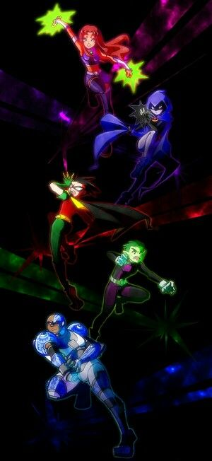 Teen Titans one of my favorite shows