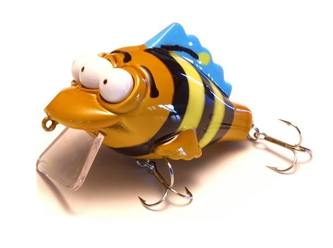 1000 ideas about homemade fishing lures on pinterest for Weird fishing lures