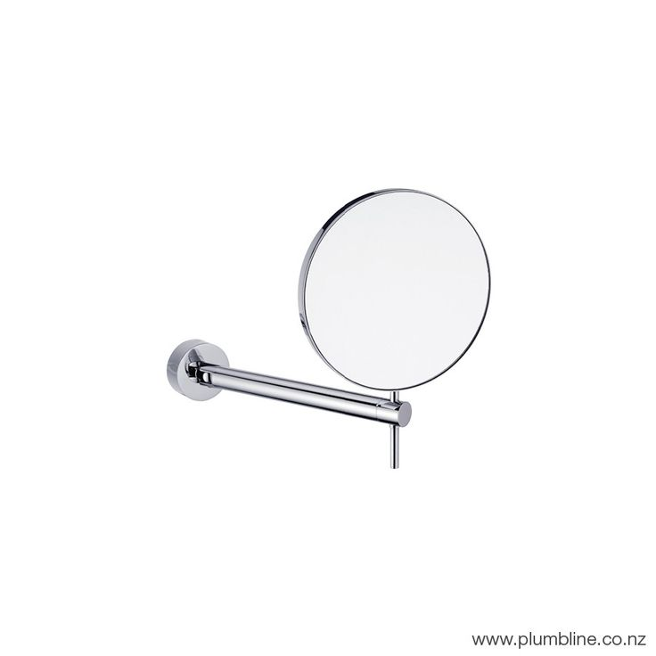 Tube Wall Mount Swivel Magnifying Mirror