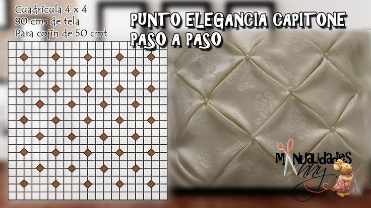 CLASE XV - PUNTO ELEGANCIA CAPITONE | Manualidades Anny