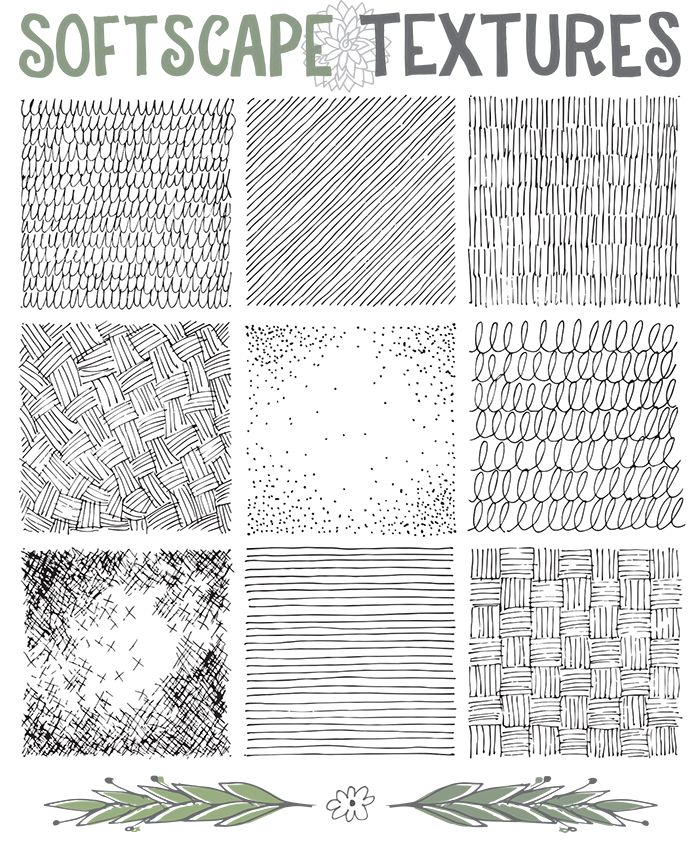 Drawing Ground Textures on www.lisaorgler.com