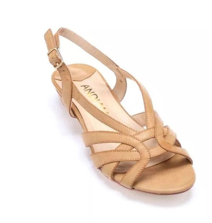 Andiamo Ping Wedge Sandals Shoes Slingbacks NEW IN BOX Size 11 M  | eBay