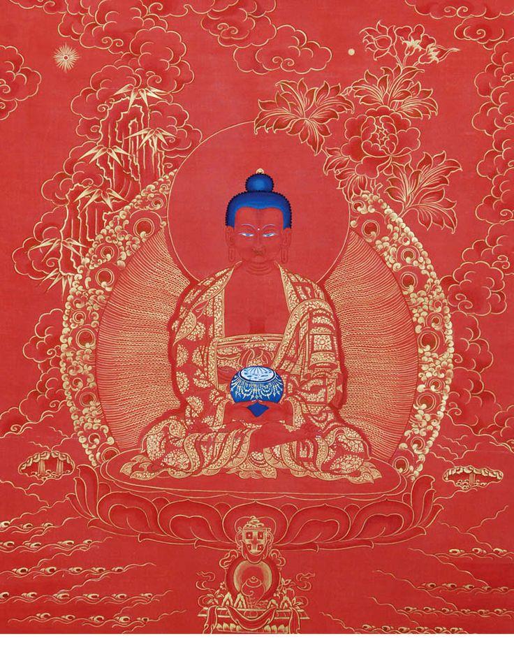 Buddha Amitabha Thangka @ NORBULINGKA  www.norbulingkashop.com