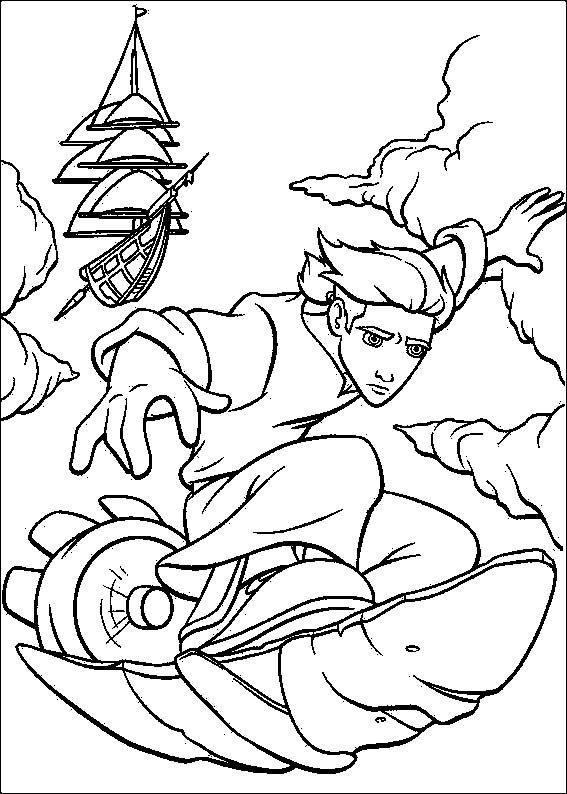 26 Best Treasure Planet Coloring Pages Images On Pinterest Coloring Page Big Planet