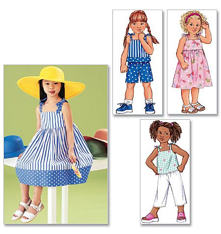 Sewing idea & Inspiration for the girls this summer!
