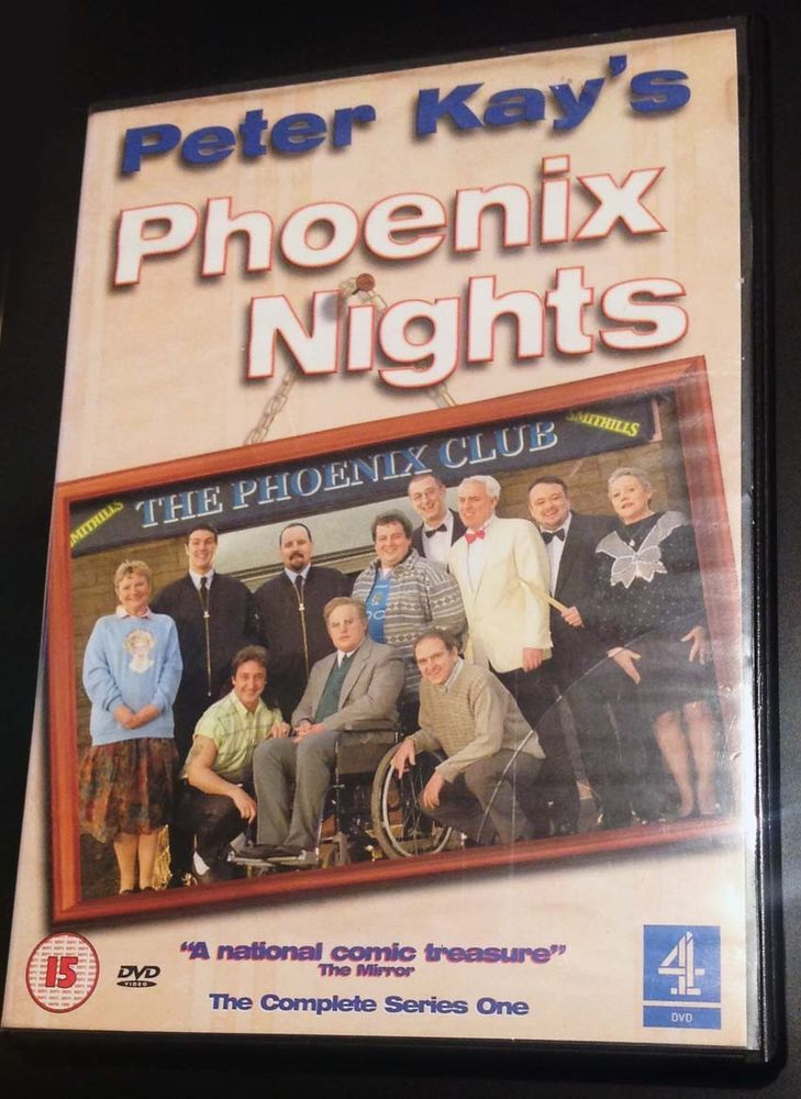 PETER KAY Phoenix Nights Complete Series 1 DVD