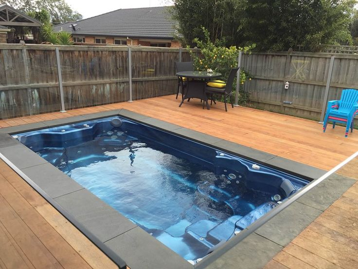 265 best endless swim spas images on pinterest spa spas and backyard - Swimming pool area ...