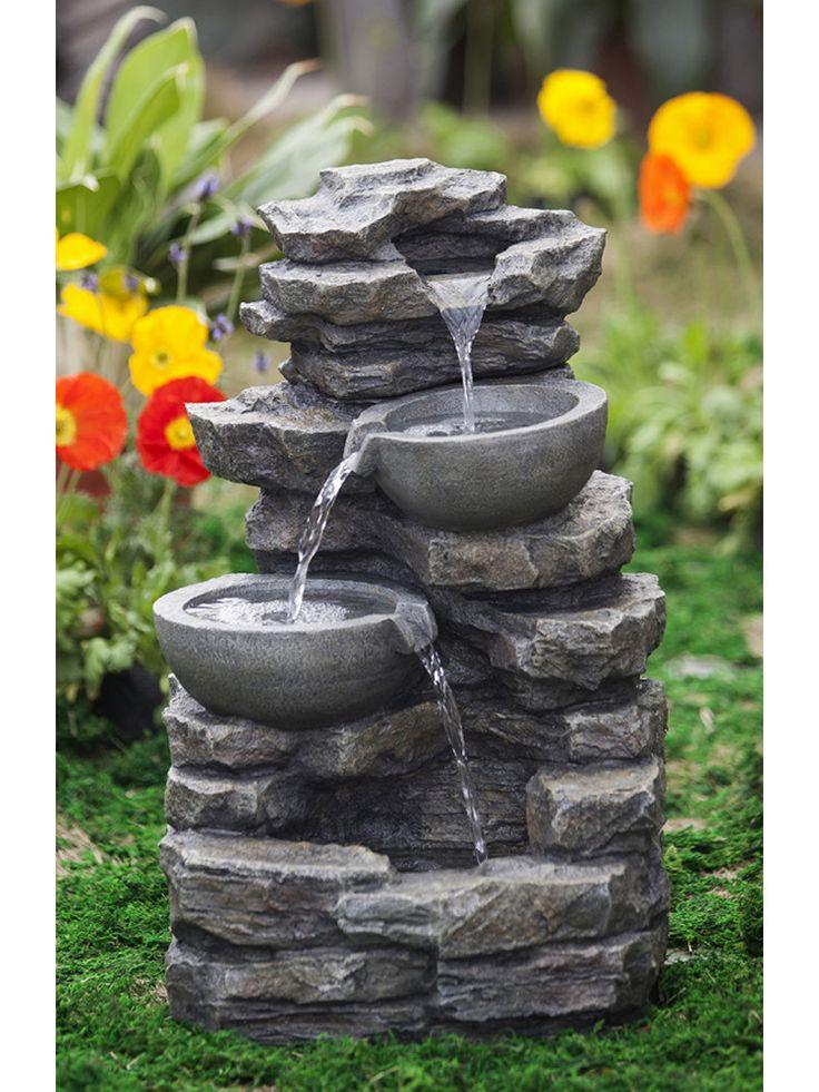 Rock u0026 Pot Waterfall Water Fountain 262