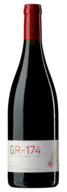 2007 Casa Gran del Siurana Priorat GR-174 vino tinto coupage de Garnacha, Cariñena y Cabernet Sauvignon.