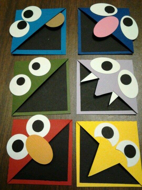 Marca páginas de Barrio Sésamo - Sesame Street book marks