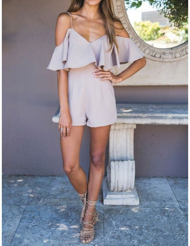 Product Code: TRM0360361 Package included: one piece of jumpsuit Gender: Female Age Group: Adult Color:apricot Pattern: Solid Color Material: cotton blend The latest stylish and comfy fitting jumpsuit