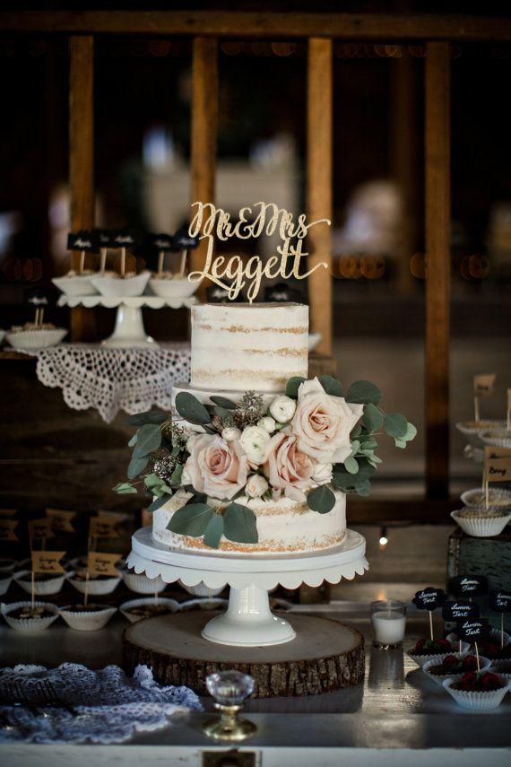 Elegante Kalligraphie-Gewohnheit Herr und Frau durch HomePrint3DToppers   – Wedding