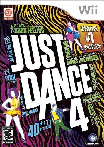 Just Dance 4 - Nintendo Wii by UBI Soft