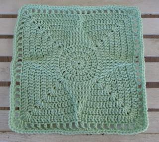"""STANDOUT STAR 12"""" SQUARE: Crochet Granny, Dragonflymomof2 Designs, Standout Star, Granny Squares, Crochet Square, Crochet Pattern"""