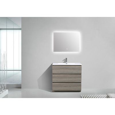 Zipcode Design Barrington 35 Single Bathroom Vanity Set Single Sink Bathroom Vanity Single Bathroom Vanity Bathroom Sink Vanity