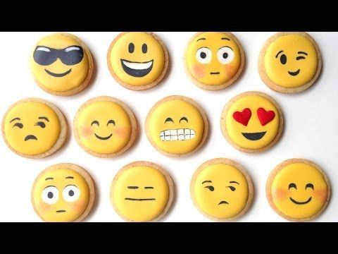 This Is How to Make Funny Emoji Cookies