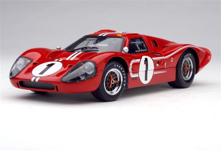 1967 Exoto Inc. Ford GT40 Mk IV - Winner of the 1967 Le Mans 24 Hours Driven by Dan Gurney and A.J. Foyt.