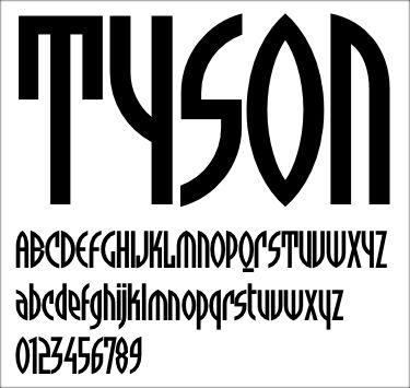 Neville Brody - Tyson - 1994