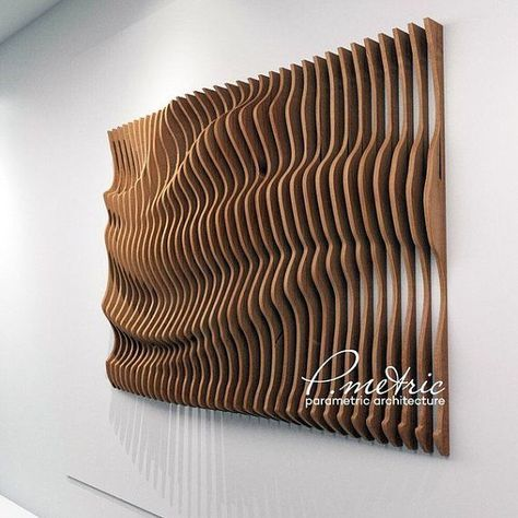 parametric panno by Pmetric on Etsy