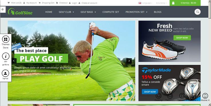 Quieres Juagar Golf tendrás que comprara los palos por internet en E-Commerce, es el meracdo mas rentable para vender por internet que tambien podemos adaptarle al cliente, para que venda en linea. Visitenos en: www.overfeedwebagency.com  Hacemos trabajos Internacionales E-Commerce, para cualquier pais del mundo.