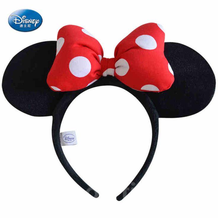 kinderen haar accessoires hoofdbanden mickey minnie mouse oren verjaardag partij halloween decoratie jongens meisjes hoofdband benodigdheden(China (Mainland))