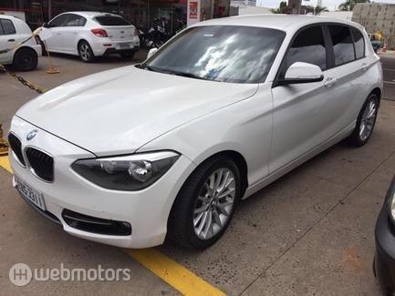 BMW-118i-1.6 SPORT GP 16V TURBO GASOLINA 4P AUTOMÁTICO