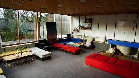 Stuen i Planetveien 12. Foto: Ida Gullhav / Bygninger i Planetveien i Oslo fredet : Riksantikvaren