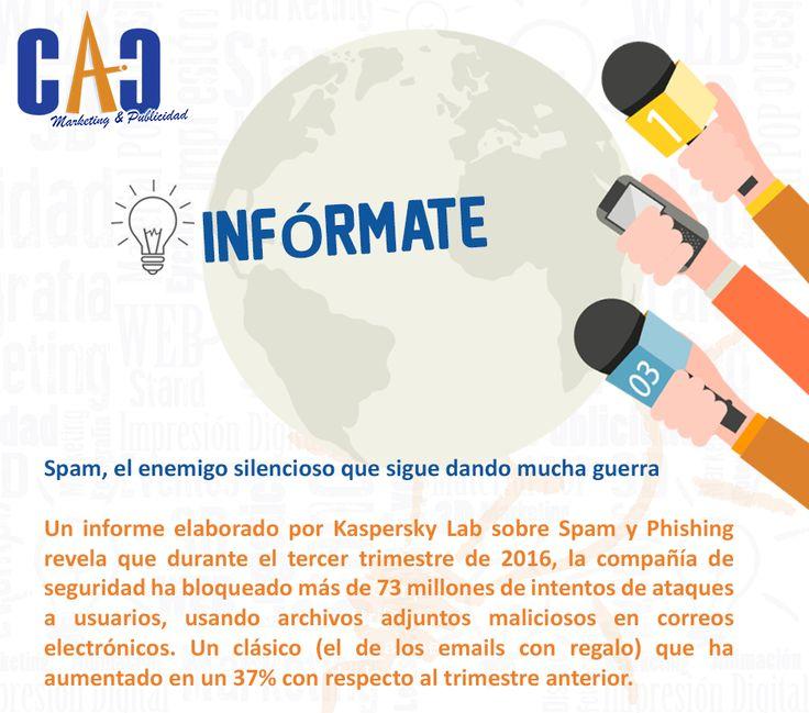 Un martes para informarse con CAC Marketing & Publicidad. #Mailing