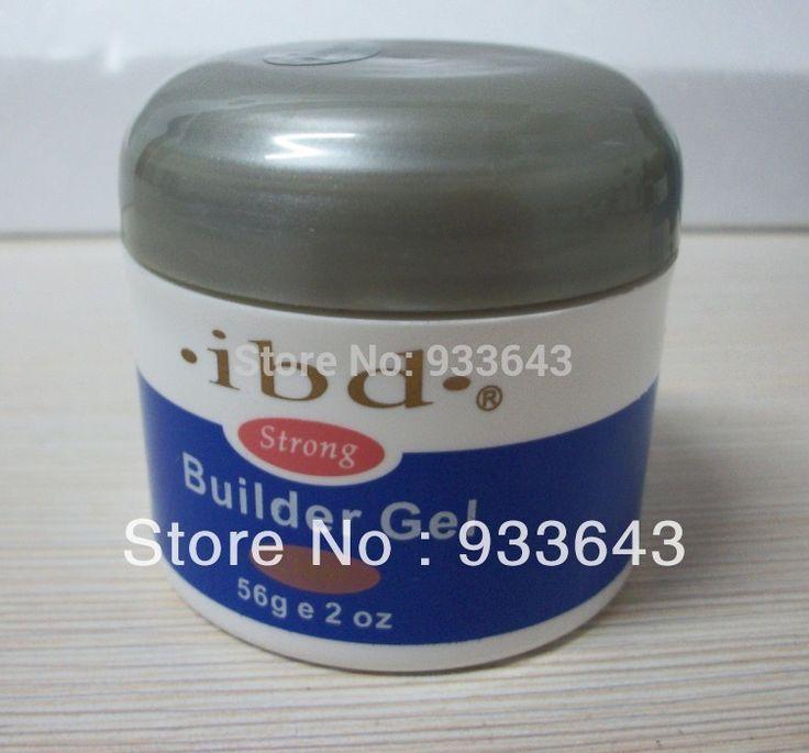 1piece Acrylic Nail Art UV Gel nail saloon profesional nail art IBD Builder Gel 2oz / 56g clear one nails & tools