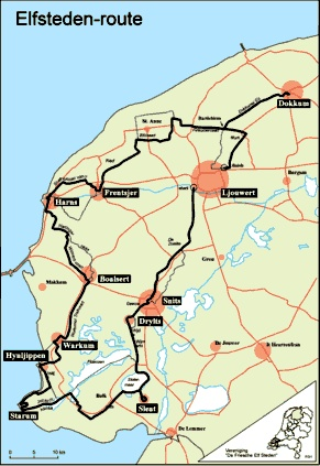 Elfstedentocht - 11 cities ice skating marathon ... that would be so fun! but it would totally kill the ankles :/