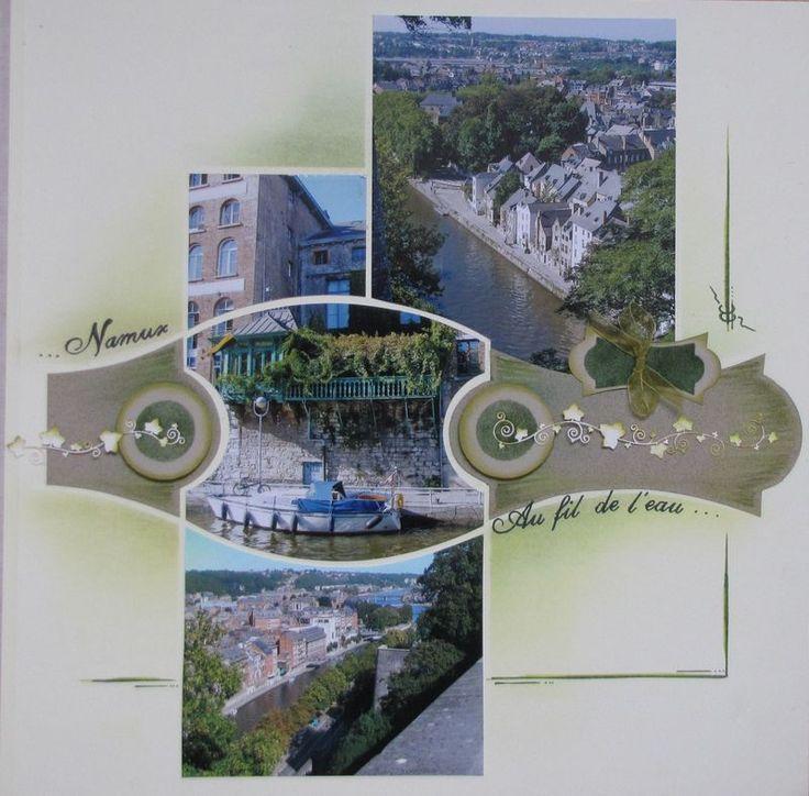 Namur ,au fil de l'eau