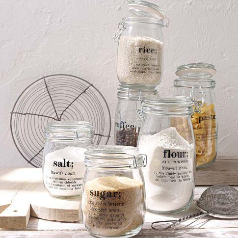 1000 ideas about vorratsdosen glas on pinterest plastikfrei deko selber machen and haushalt. Black Bedroom Furniture Sets. Home Design Ideas