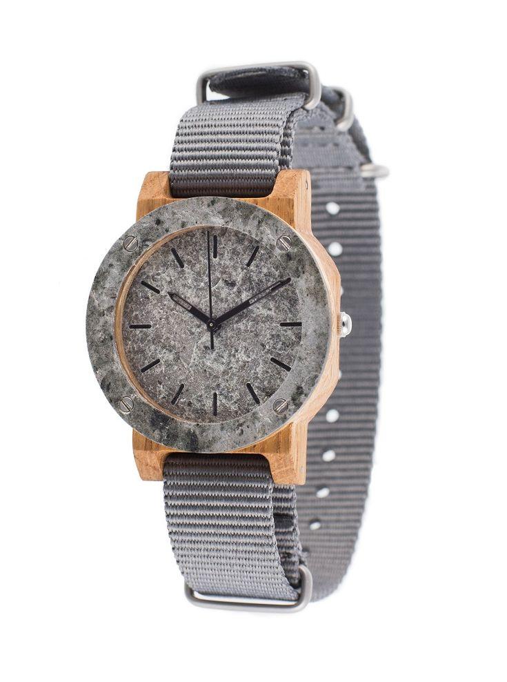 429 zł, Drewniany zegarek MINI Raw Silver Oak 2