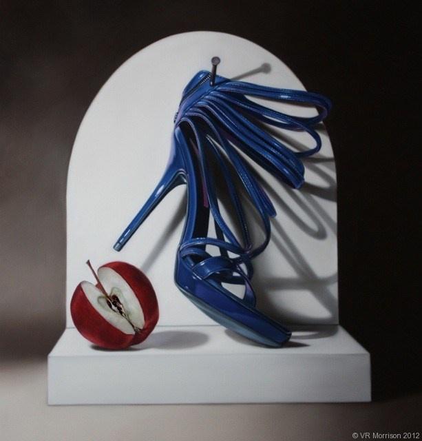 Sacre Bleu - VR Morrison Contemporary Artist