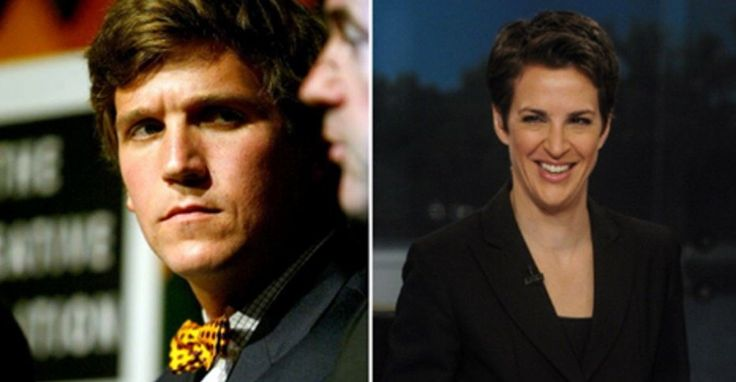 """The TV ratings are in for March. MSNBC's The Rachel Maddow Show surpassed Fox News' Tucker Carlson Tonight among 25- to 54-year-old viewers, the demographic that determines advertising rates. And Maddow is on track to win again in April, according to CNN Money.This may change slightly, as Carlson moves from 9 p.m. to 8, replacing the disgraced Bill O'Reilly. But as CNN points out, """"executives all across television news have already taken notice of her recent wins.""""MSNBC president Phil"""