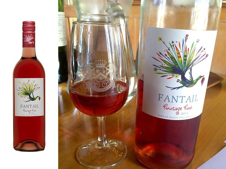 This salmon pink wine delivers flavours of strawberries and raspberries. These flavours follow through onto a luscious palate that finishes with a refreshing crispness. Have you tired our Fantail Pinotage Rosé - http://ow.ly/BjP16?
